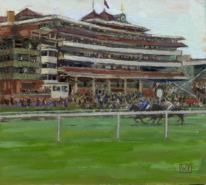 Newbury Races, Haynes Hanson and Clark Conditions Stakes