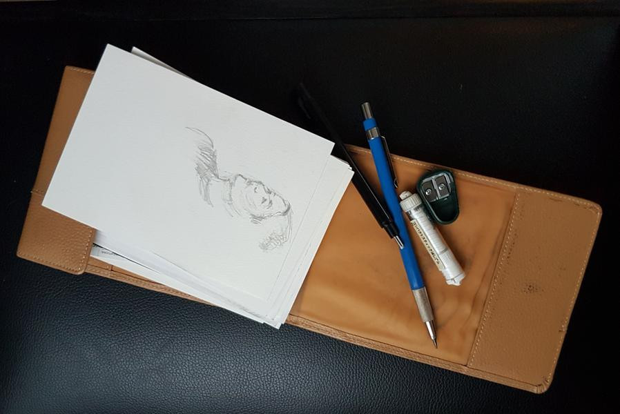 Materials for Drawing in Concerts