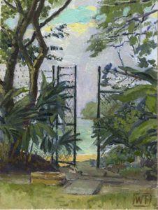 Beach Gate w