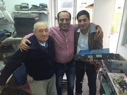 Hace 8 años, mi amigo don Mario, nos fabricó gran parte de los  equipos de Radios Atrevete..
