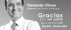 banner director de radio atrevete