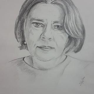 Self portrait by Joanna