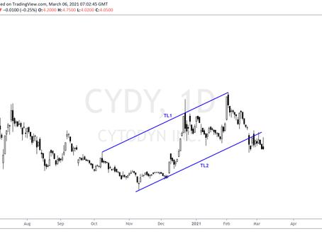 Price Targeting for Cytodyn inc