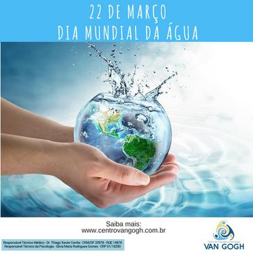 O futuro de nosso planeta depende da forma com que usamos a água hoje!