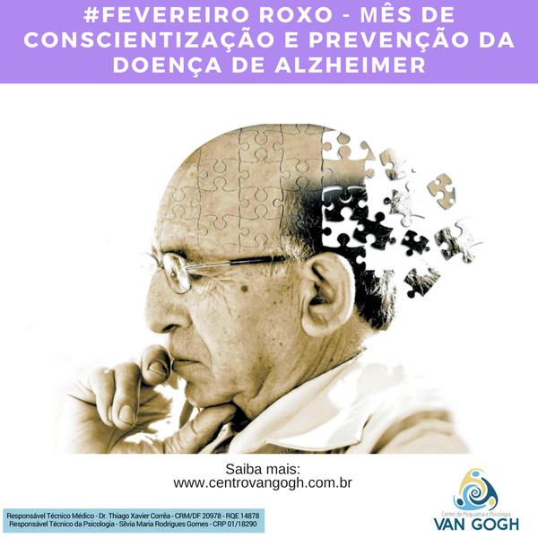 Mês de Conscientização e Prevenção da Doença de Alzheimer