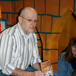 Reading and Signing at the WoodKnot Bookshop (2010)