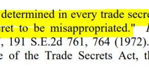 Was it a Trade Secret?
