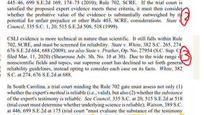 Expert Testimony and CSLI (Rule 702 and cell site location information)