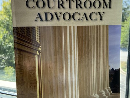 Resolve to be a Complete Lawyer: A Review of Judge Joe Anderson's 'Effective Courtroom Advocacy'