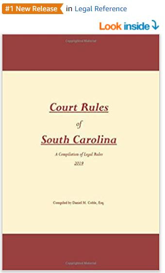 court rules of south carolina