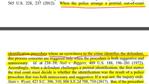 Neil v. Biggers Pretrial Identification Procedure