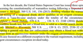 New DUI case in South Carolina