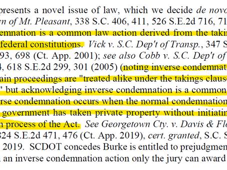 Inverse Condemnation & Eminent Domain