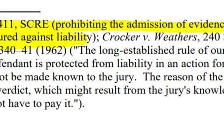 SCRE 411: Liability Insurance
