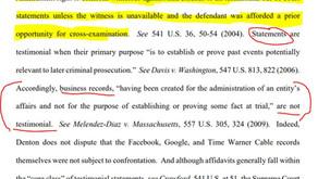 Affidavit of Evidence vs. Affidavit of Authentication