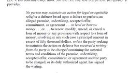 Statute of Frauds 37-10-107