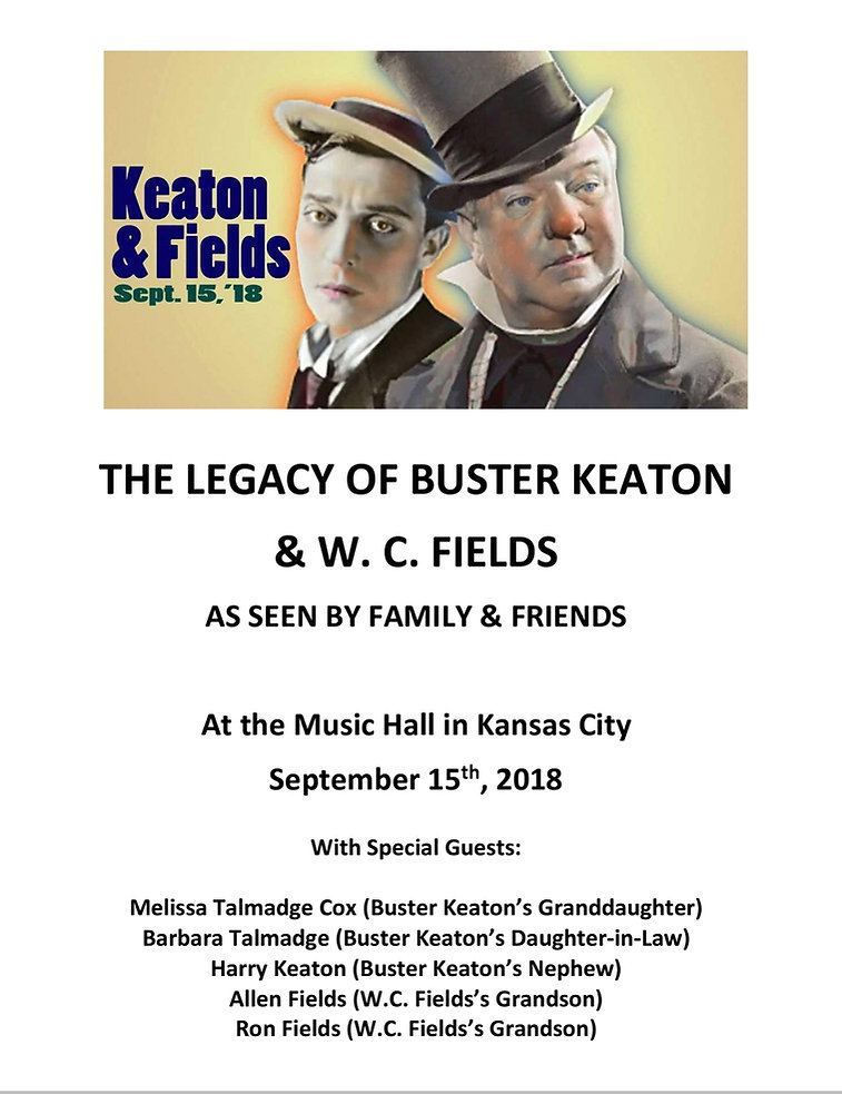 Ronald J. Fields appears at Music Hall