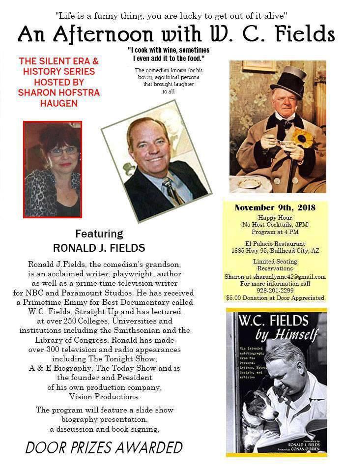 Ronald J. Fields Bullhead City, AZ