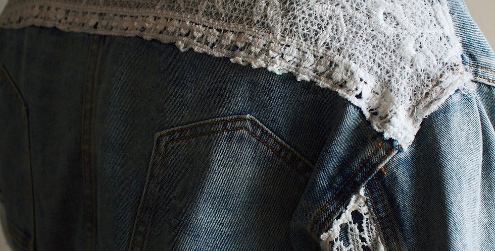 Lovely in Lace Denim