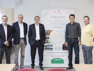 AGENA 3000, un nouveau partenariat de qualité pour la Halte du Cœur