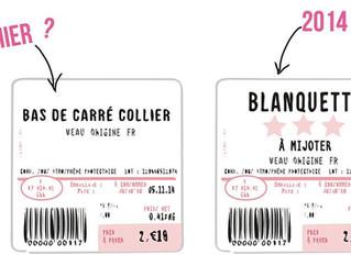 """Les nouvelles étiquettes sur la viande avec des étoiles, """"plus simple et plus compréhensible&qu"""