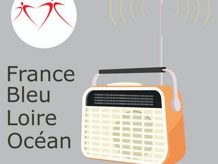 Célia LAURENT répond aux questions sur France Bleu Loire Océan
