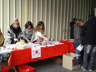 La MFR de la Romagne anime la distribution de Beaupréau !
