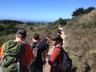 Young Men's Group Trip to Alamere Falls May 2014