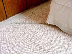 Trança de chenille e algodão 50 cabo
