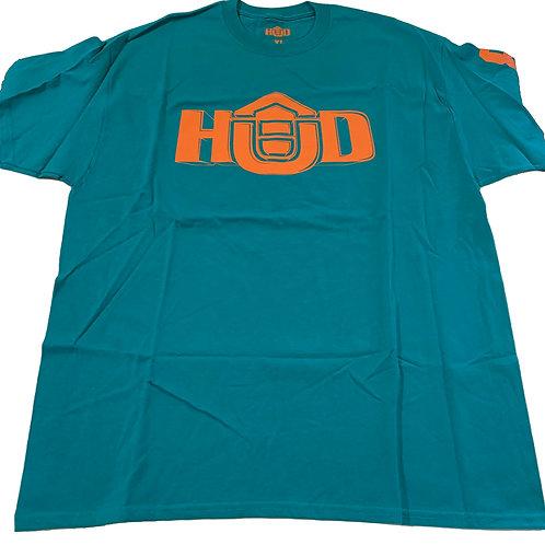 HUD Shirt TEAL/ORG