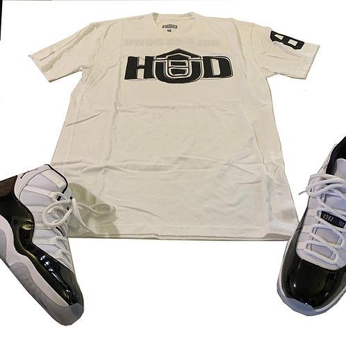 HUD Shirt WHT/BLK