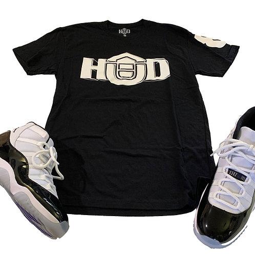 HUD Shirt BLK/WHT