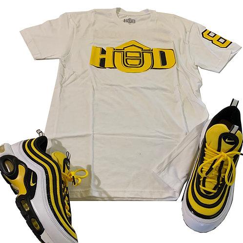 HUD Shirt WHT/YEL