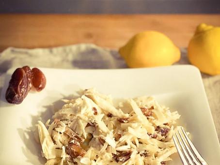 Orientalischer Pastinaken Salat mit Datteln