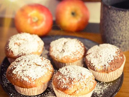 Winterliche Apfelmuffins