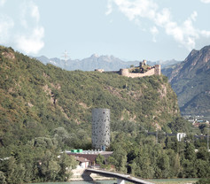 Verso Castel Firmiano