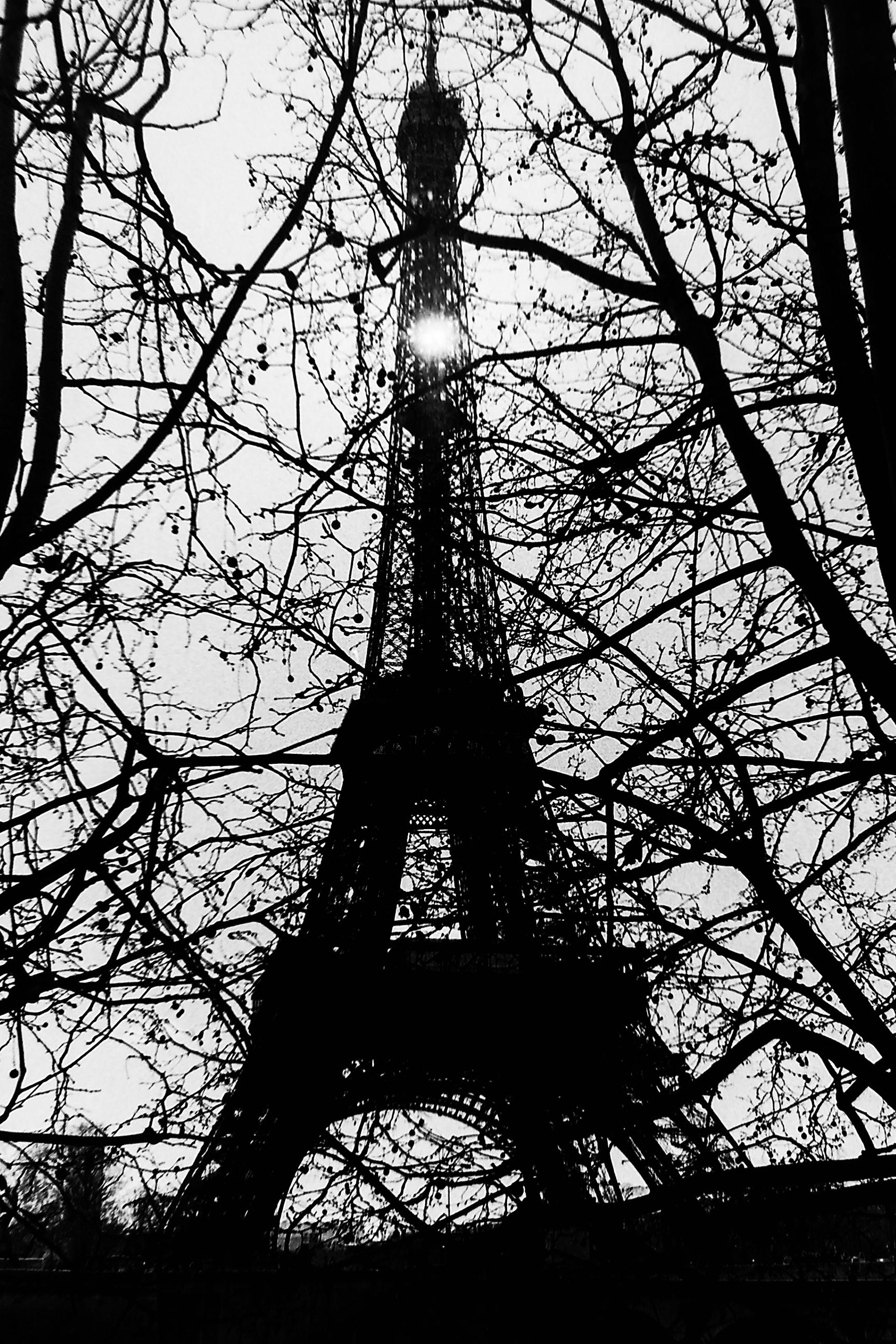 EiffelSilhouette