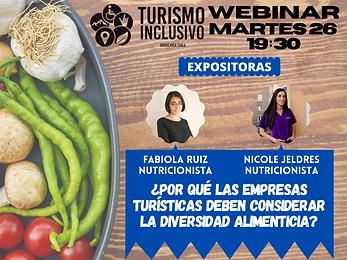 link de video de webinar ¿por qué las empresas turísticas deben considerar la diversidad alimenticia?