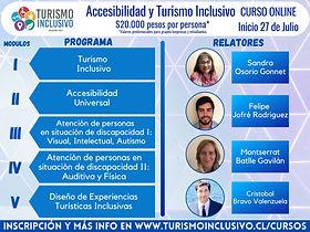 Detalle gráfico del curso Accesibilidad y Turismo Inclusivo.
