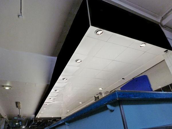 Faux plafond structure fine