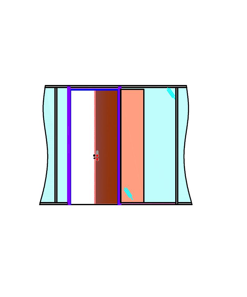 Porte bois à galandage