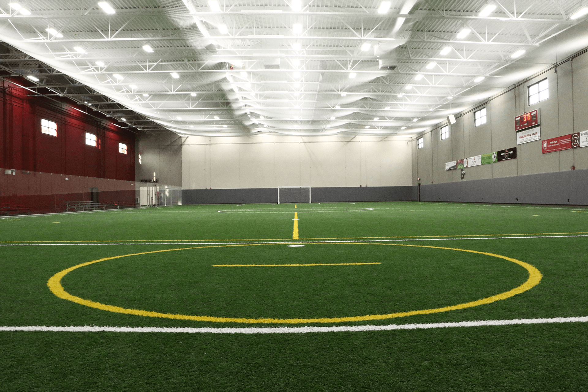 indoor turf field