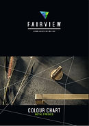 Fairview Facade Panels NZ Metal Finishes. Colour Chart