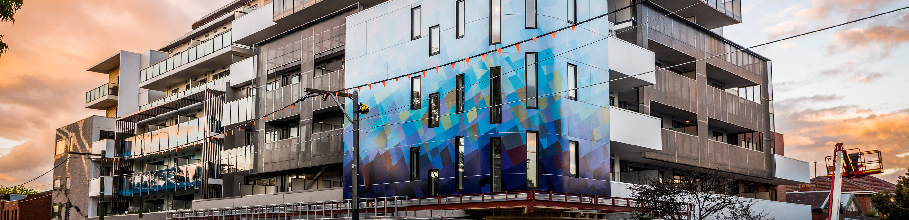 George Windsor ACM Facade Panels