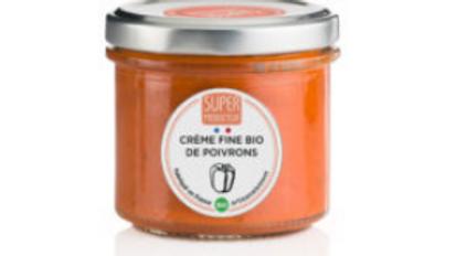 Crème fine bio de poivrons, origine France - 100g