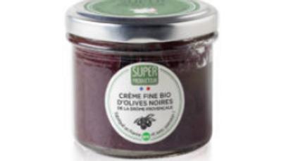 Crème fine bio d'olives noires de la Drôme provençale, origine France - 90g