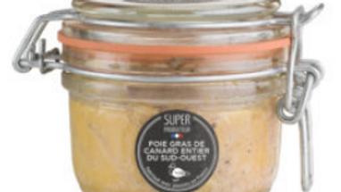 Foie gras de canard entier IGP, origine Sud-Ouest  - 120g
