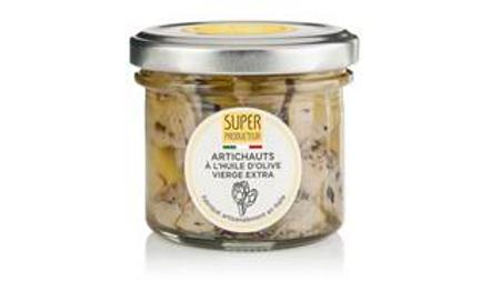 Artichauts grillés à l'huile d'olive Extra Vierge, origine Italie - 100g
