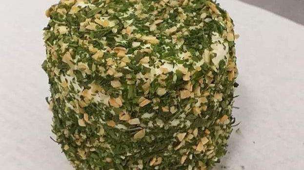 Gros Crottin Pan'Pille frais et aux herbes, origine La Divatte - 180g environ