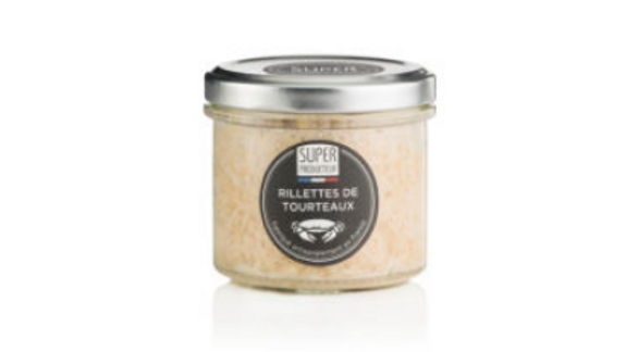 Rillettes de tourteaux, origine France - 90g